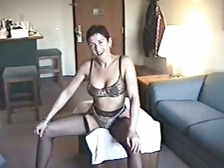 slutty d like to fuck hoe posing in sexy lingerie