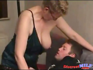 dilettante milf fucked by juvenile chubby man