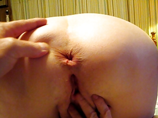 wife playing with pussy showing chocolate hole