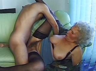 avid old mama receives big penis