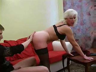 blonde russian older copulates