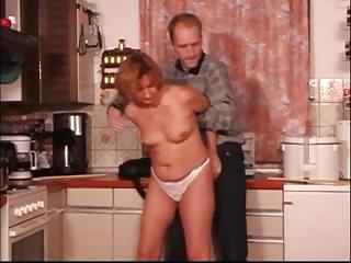 kitchen mature fingered spanked &; fuked xlx