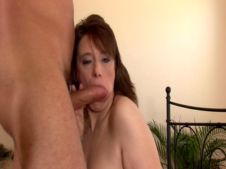sexually excited aged hottie in nylons fucked