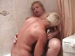 chunky russian granny