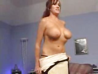 hot mother bailey creamed by younger fellow