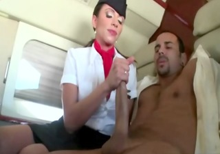 cfnm air hostess hotties getting fucked after