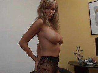 perfect wife zuzana nice beauty nylon pointer