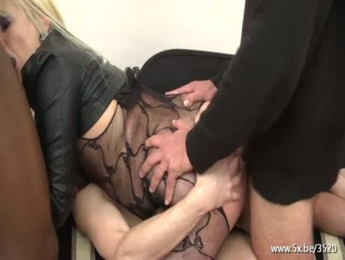 mallaurie gangbanged in pantyhose