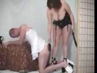 female bitch spanking