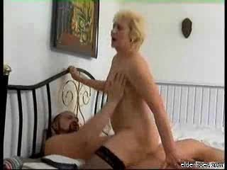 granny sucking and taking pounder hard