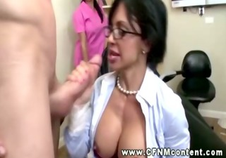 large titted cfnm babe fucking and sucking