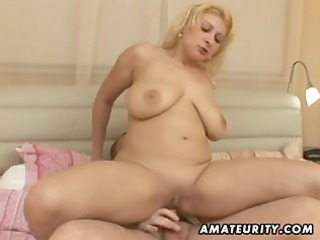 corpulent dilettante wife fucking with facial