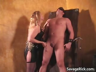 hot darksome leather blond d like to fuck