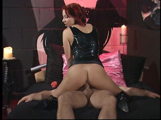 cute redhead d like to fuck in leather boots
