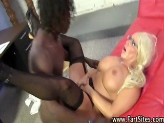 mature stockings babe acquires fucked