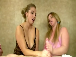 breasty mother i and teen jerk schlong together