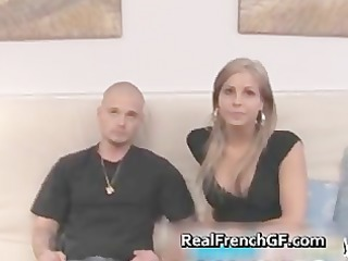 sexy blonde french gf anal stuffed video part6