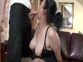 breasty dark brown granny acquires naughty love
