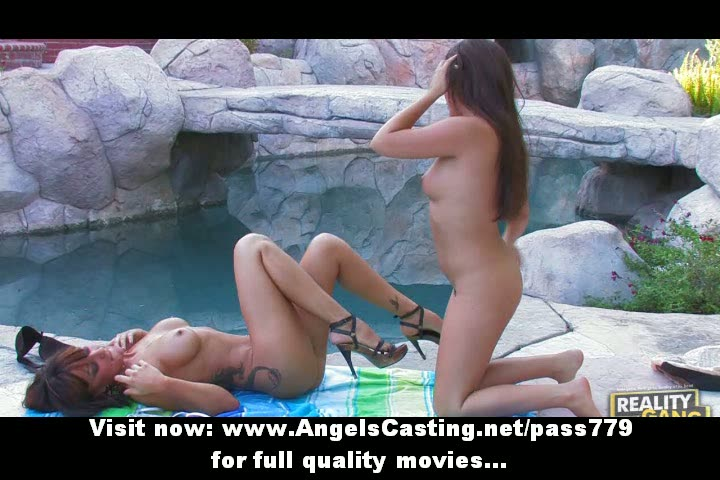dilettante stunning lesbians angels with natural