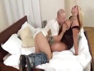 sexy breasty blonde d like to fuck receives