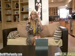 large tit blonde mother in law copulates cheating