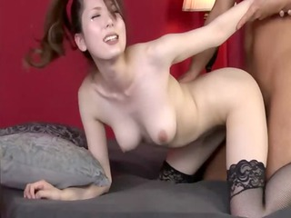 large titted japanese mother i bounces on cock