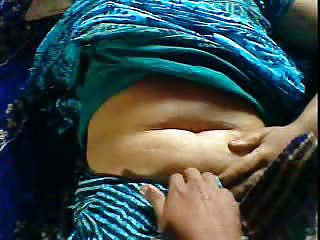 sexy indian wife navel show