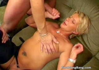 hot hot wicked golden-haired wench with great