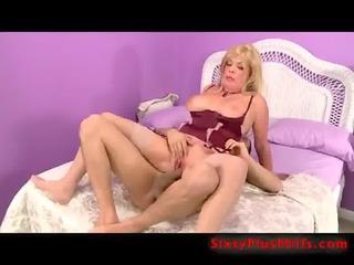 rear fucked blond grandmother