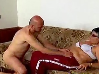 nasty old mom acquires screwed hard and does