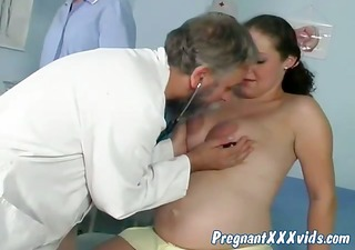 doctor put his prick up a pregnant