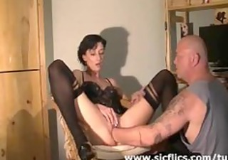 extraordinary housewife brutally deep fisted in