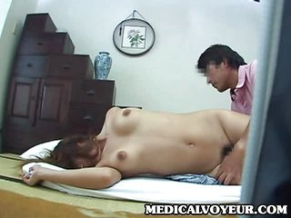 young wife home massage part 0