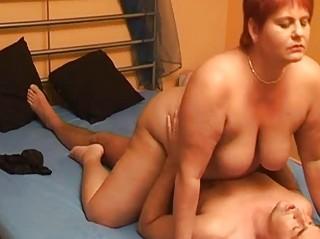 chubby dilettante wife sucks and fucks with spunk