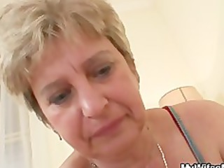 cock hungry granny bonks her son in law