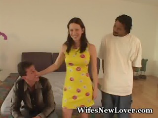 wife wishes to be a wench for voyeur hubby