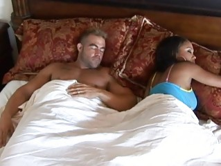 swarthy wife with big tits cheating spouse and