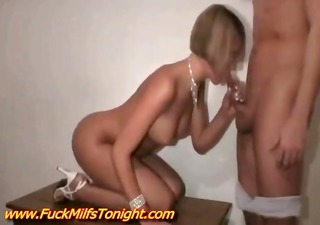 sexy mother i with awesome body copulates her