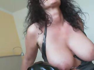 immodest milf solo