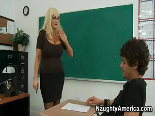 this breasty blonde mother i of a teacher needs