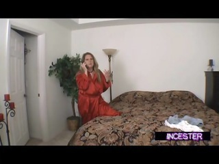 son blackmailed to fuck mommy and aunt joins