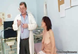 naughty old housewife getting her big