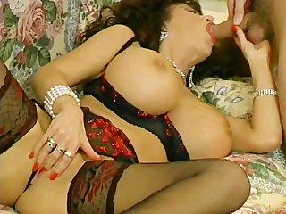 huge-tit mother i screwed in her lingerie