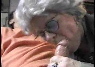 aged lady