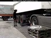 ebon hottie screwed by trucker aged mature porn