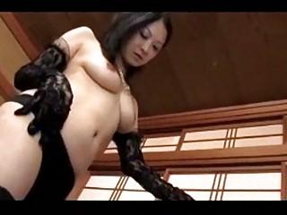 older mistress in darksome underware getting her