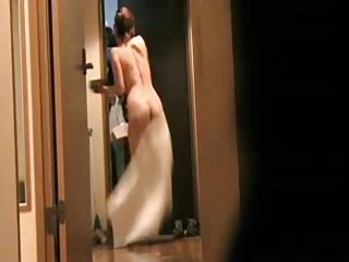 japanese wife flashing delivery guy 7