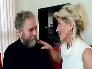breasty old mommy prepare for eager sex with old