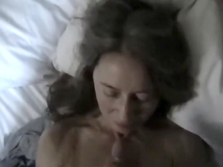 hawt facial on wife