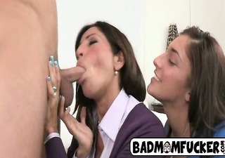 step mama got trio anal action of her own